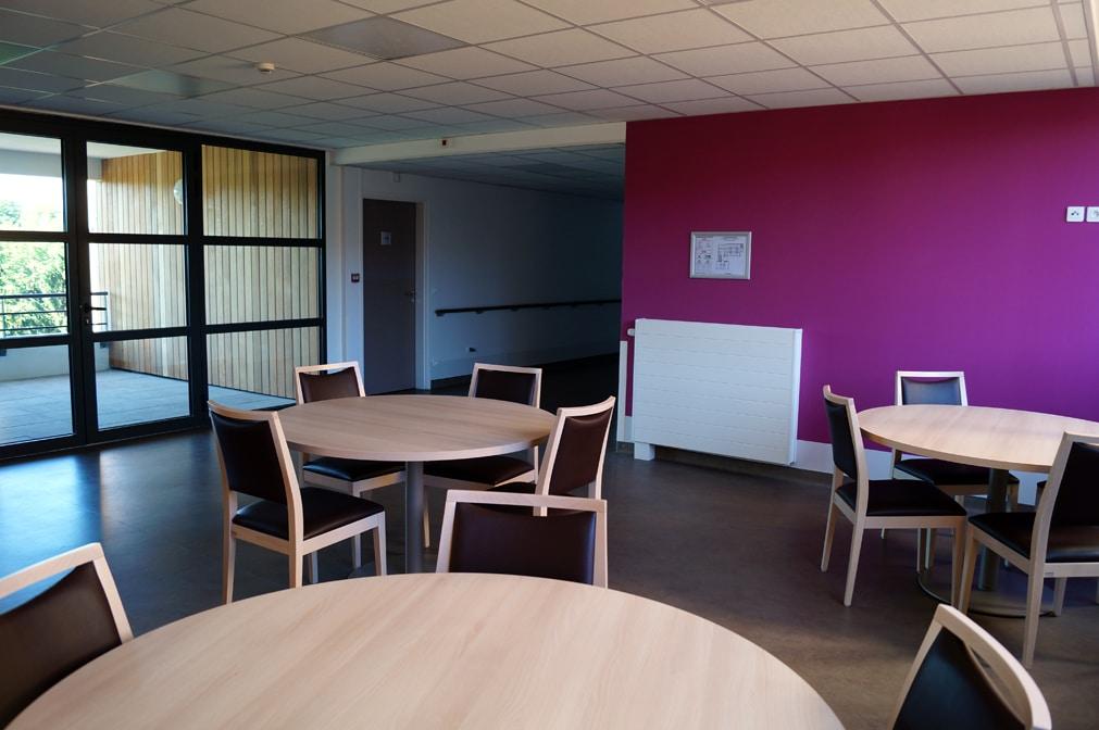 Espace de vie du Centre Médical d'Oussoulx